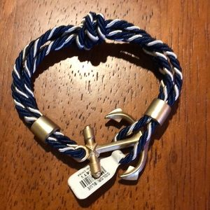 Anchor Knotted Bracelet
